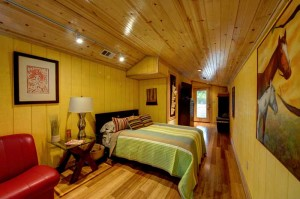The Writing Barn bedroom