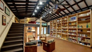 Library at The Writing Barn