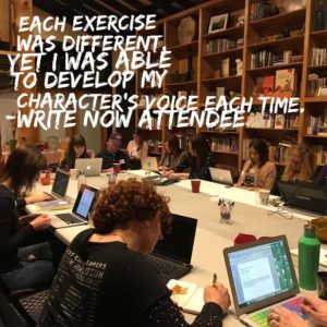 Write NOW Attendee Quote