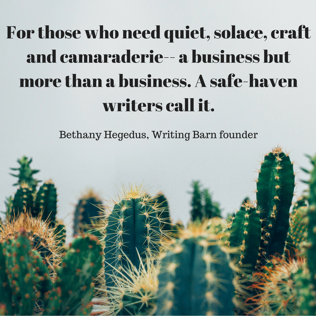 Bethany Quote Cacti - Writing Barn